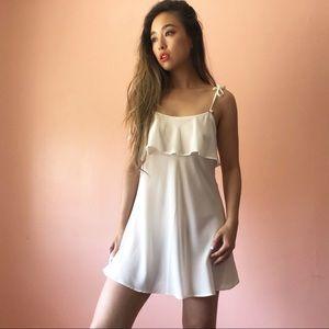 For Love & Lemons Skivvies Slip Dress